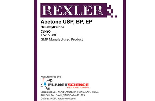 Acetone USP, BP, EP