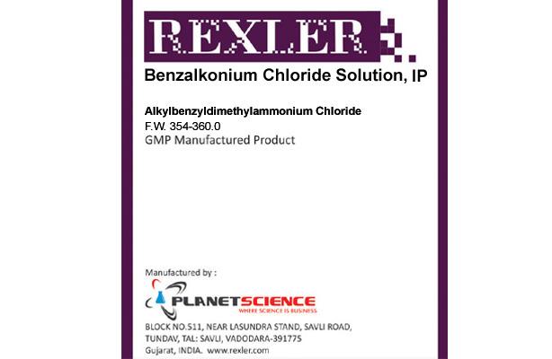 Benzalkonium Chloride Solution IP