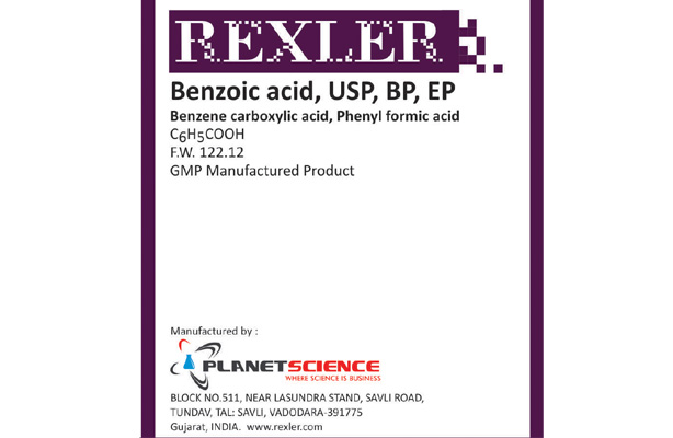 Benzoic Acid USP, BP, EP
