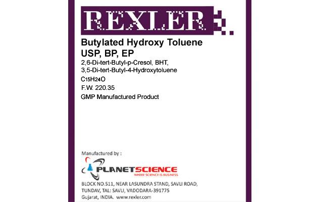 Butylated Hydroxy Toluene USP, BP, EP