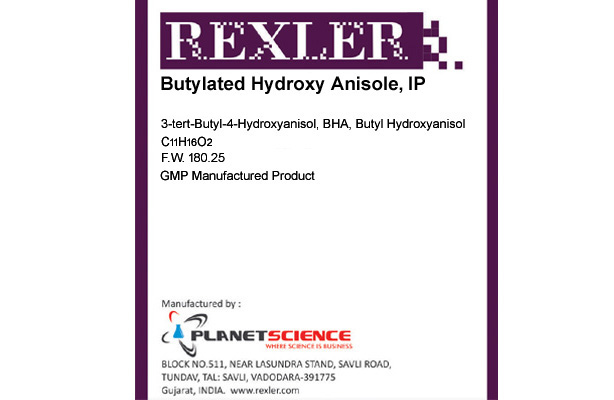 Butylated Hydroxy Anisole IP