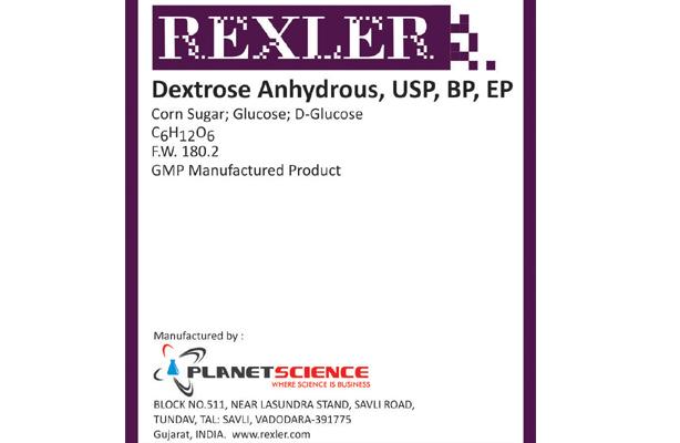 Dextrose Anhydrous, USP, BP, EP