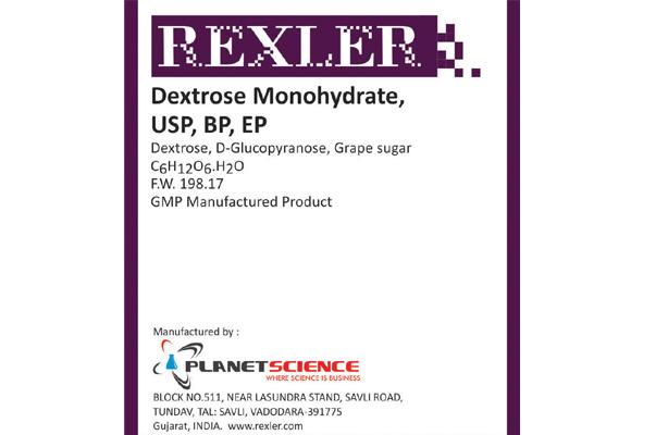 Dextrose Monohydrate USP, BP, EP