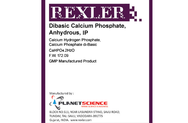 Dibasic Calcium Phosphate Anhydrous IP