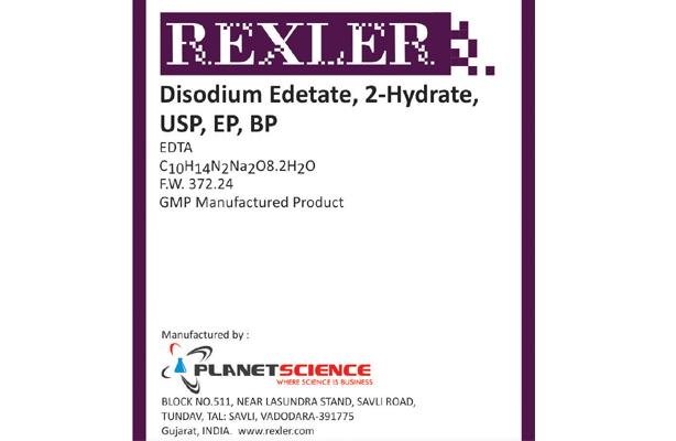 Disodium Edetate,2-Hydrate, USP, EP, BP