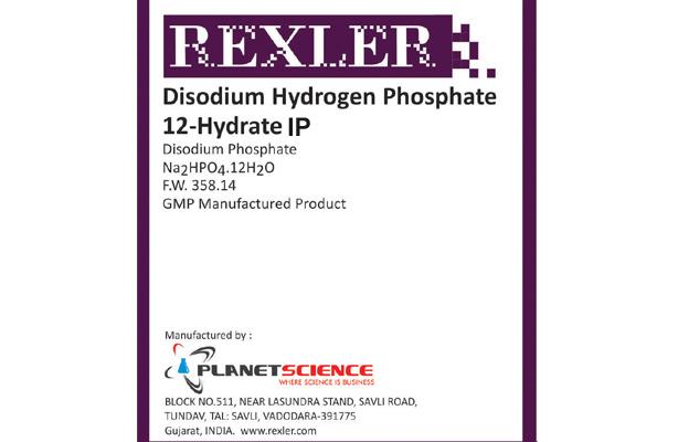 Di-Sodium Hydrogen Phosphate 12-Hydrate IP