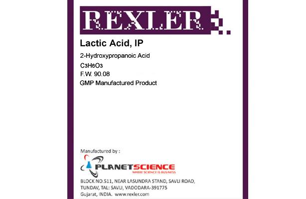 Lactic Acid IP