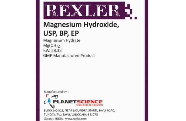 Magnesium Hydroxide USP, BP, EP