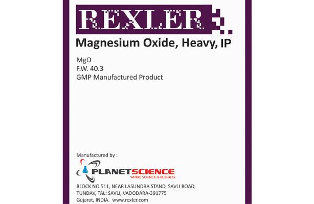 Magnesium Oxide, Heavy IP