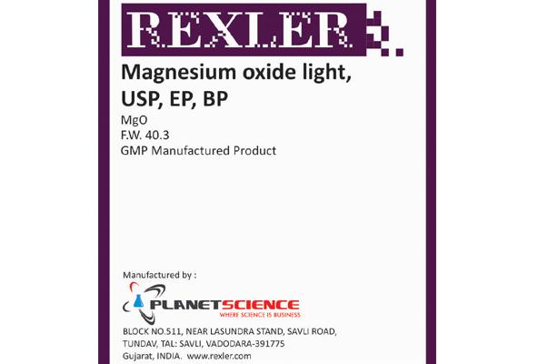 Magnesium Oxide Light, USP, EP, BP