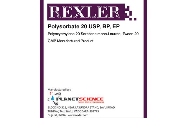 Polysorbate 20 USP, BP, EP