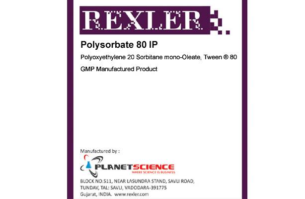 Polysorbate 80 IP