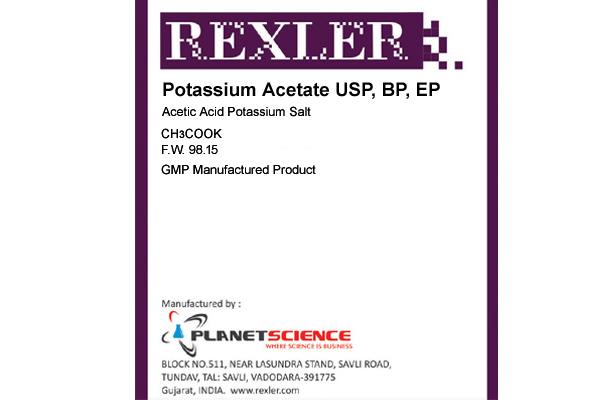 Potassium Acetate USP, BP, EP