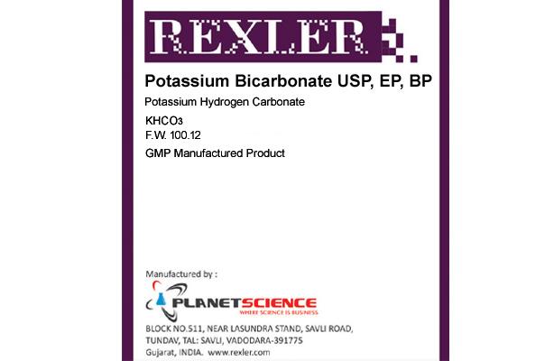 Potassium Bicarbonate USP, EP, BP