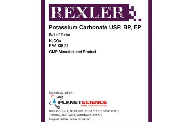 Potassium Carbonate USP, BP, EP