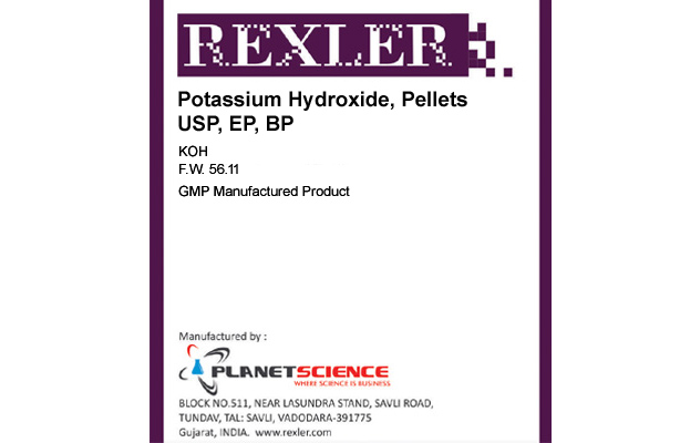 Potassium Hydroxide, Pellets USP, EP, BP