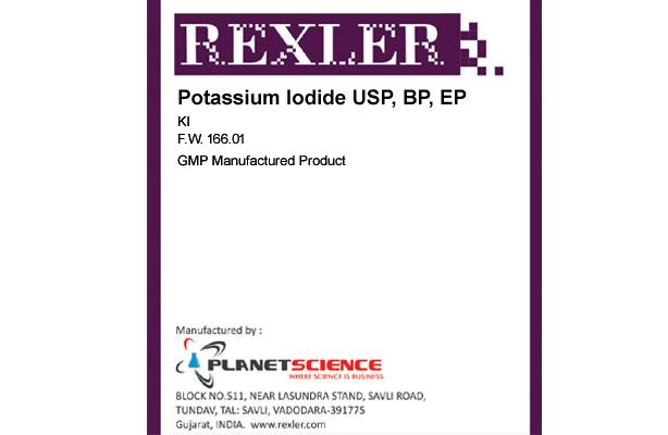 Potassium Iodide USP, BP, EP