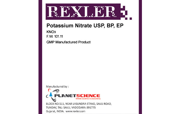 Potassium Nitrate USP, BP, EP