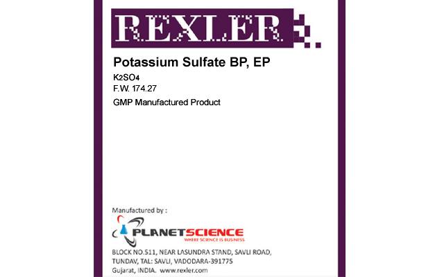 Potassium Sulfate BP, EP