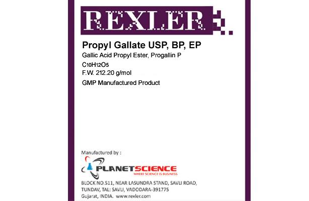Propyl Gallate USP, BP, EP