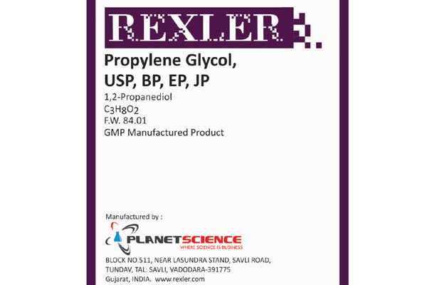 Propylene Glycol USP, BP, EP, JP
