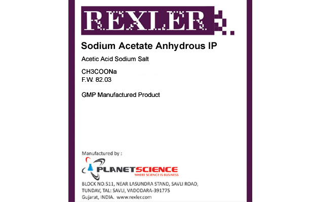 Sodium Acetate Anhydrous IP