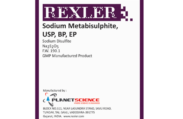 Sodium Metabisulphite USP, BP, EP
