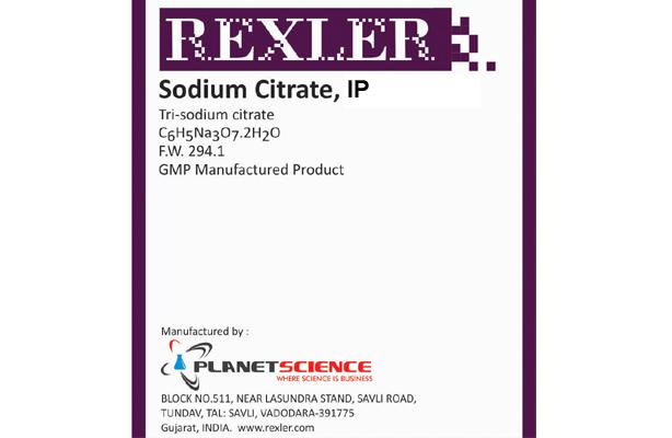 Tri-Sodium Citrate Dihydrate IP
