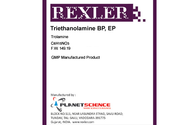 Triethanolamine BP, EP