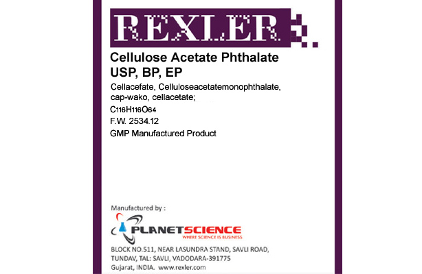 Cellulose Acetate Phthalate USP, BP, EP