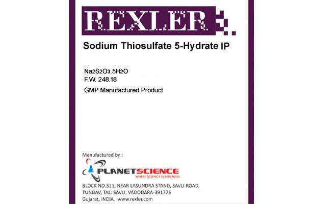 Sodium Thiosulphate 5-Hydrate IP