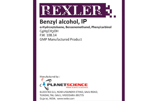 Benzyl Alcohol IP