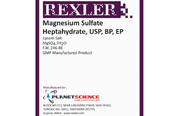 Magnesium Sulfate Heptahydrate USP, BP, EP