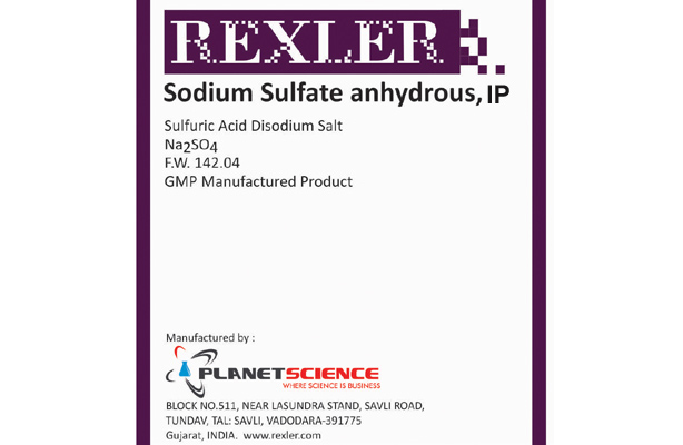 Sodium Sulfate Anhydrous IP